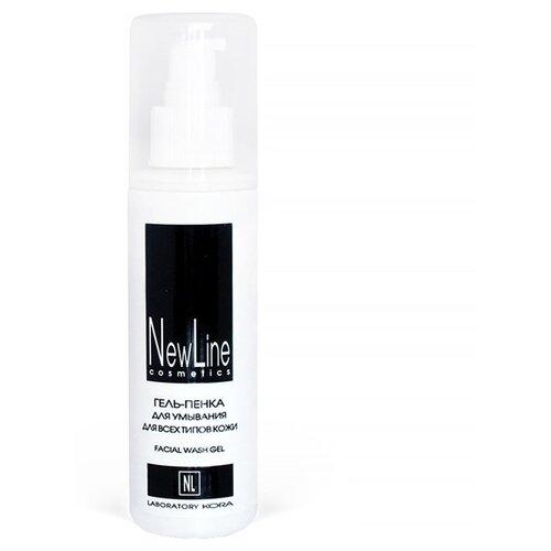 NewLine Гель-пенка для умывания для всех типов кожи, 150 мл point пенка скраб для умывания глубокое очищение для всех типов кожи 150 г