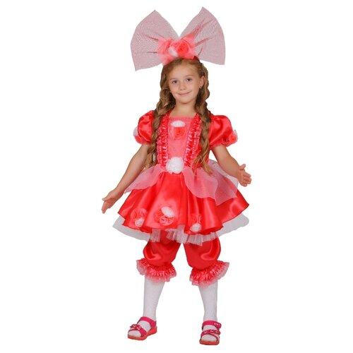 Купить Костюм Elite CLASSIC Кукла Тутси, коралловый, размер 28 (116), Карнавальные костюмы