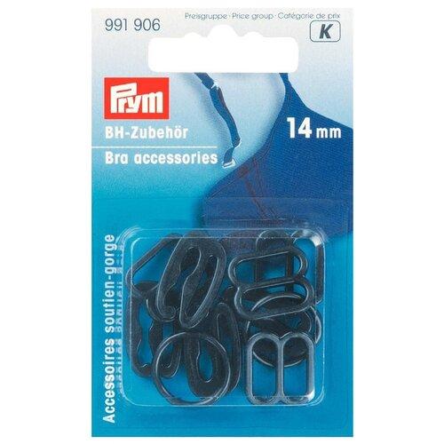 Купить Prym Аксессуары для бюстгальтера 14 мм 991906, черный (10 шт.), Фурнитура