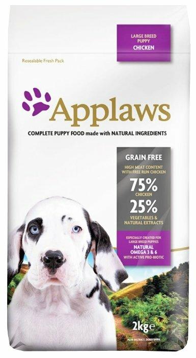 Корм для щенков Applaws курица 2 кг (для крупных пород)