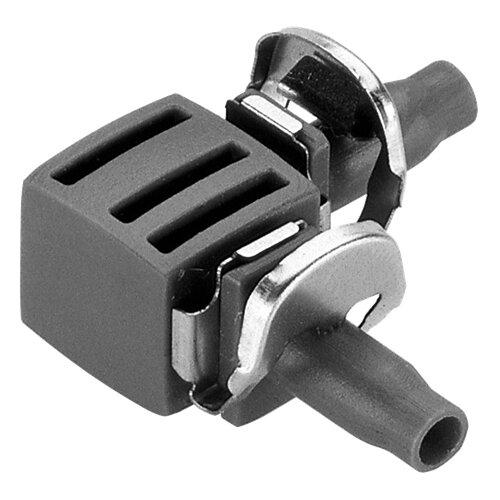 Комплект соединителей L-образных 4,6 мм (3/16), 10 шт. (8381-29) GARDENAСоединители и фитинги<br>