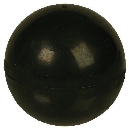 Мячик для собак Зооник Мяч ц/р черный (16477)