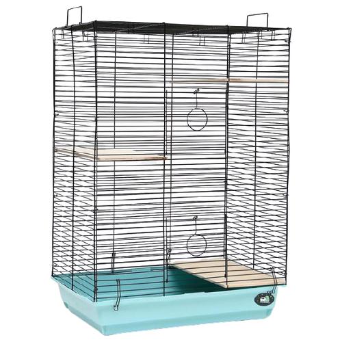 Клетка для грызунов Пижон №7 58х40х82 см голубой