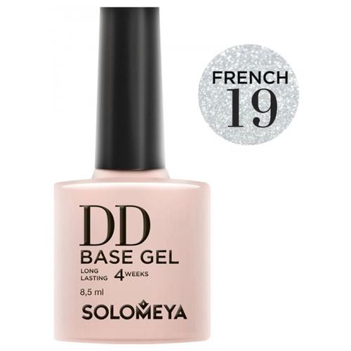 Купить Solomeya базовое покрытие DD Base Gel суперэластичное 8.5 мл French 19