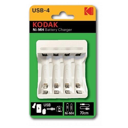 Фото - Зарядное устройство KODAK C8002B USB [K4AA/AAA] опциональный принтер kodak 1324391
