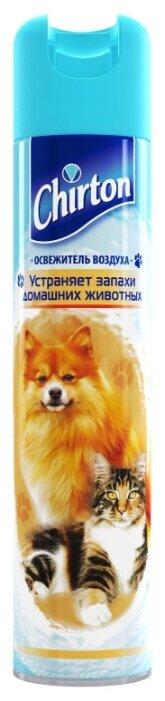 Chirton аэрозоль Устраняет запахи домашних животных, 300 мл