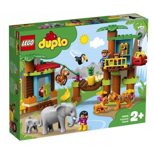 Конструктор LEGO DUPLO 10906 Тропический остров lego duplo 10925 конструктор лего дупло игровая комната