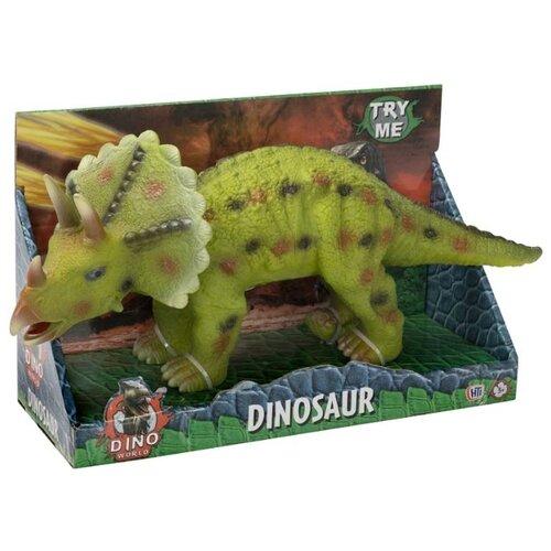 HTI Dino World Трицератопс 1374173.UNIB фигурка hti dino world аллозавр 1374171 unib