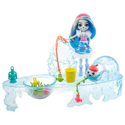 Купить Игровой набор Enchantimals Fishing Friends Любители Рыбалки, GJX48, Куклы и пупсы