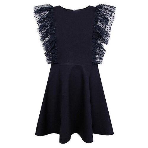 Купить Платье DAN MARALEX размер 134, синий, Платья и сарафаны