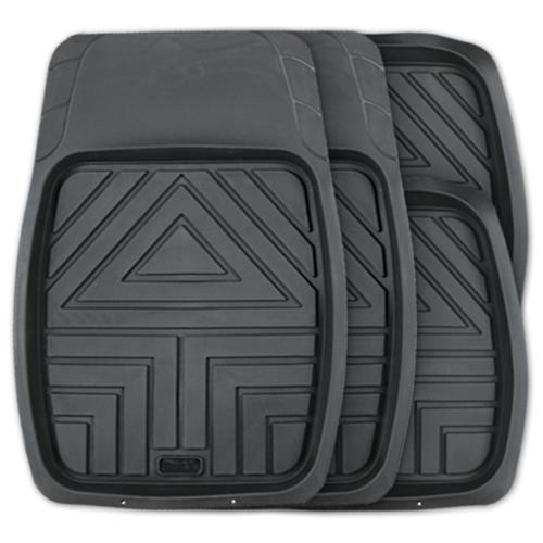 Комплект ковриков AUTOPROFI TER-110 4 шт. черный