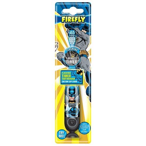 Купить Зубная щетка Dr. Fresh Batman BM-5, 5, синий/серый, Гигиена полости рта