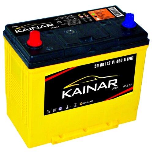 Автомобильный аккумулятор Kainar Asia 6СТ50 VL АПЗ п.п. 65B24R автомобильный аккумулятор kainar asia 6ст65 vl апз п п 88d23r