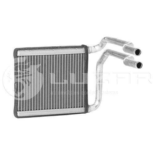 Радиатор отопителя салона Luzar LRH08L4 серебристый