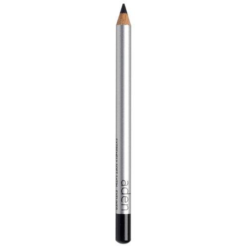 Купить Aden Сатиновый карандаш для глаз Satin Kajal Eyeliner, оттенок черный