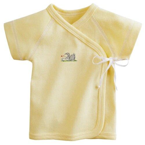 Купить Распашонка Наша мама размер 56, желтый, Распашонки