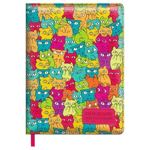 Купить Феникс Дневник школьный Котики 48563 разноцветный, Дневники