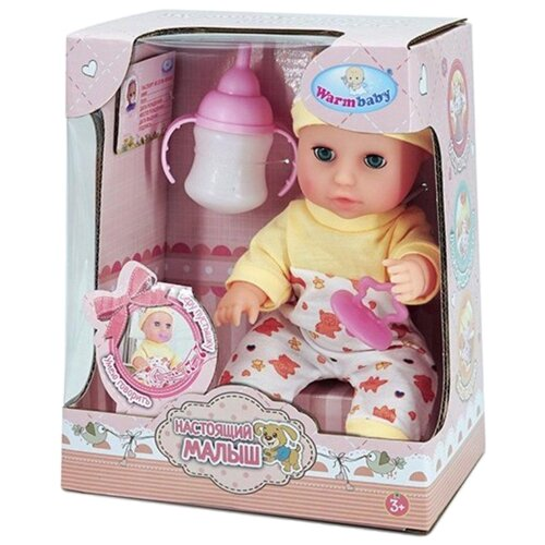 Купить Пупс Warm Baby Настоящий Малыш, 23 см, Куклы и пупсы