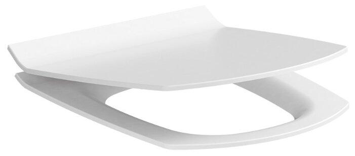 Крышка-сиденье для унитаза Cersanit Carina Slim дюропласт с микролифтом