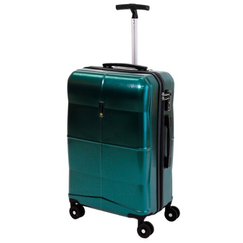 Чемодан Sun Voyage EGO M 68 л, green чемодан sun voyage sv037 ac116 m