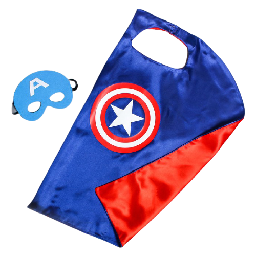Купить Карнавальный набор Страна Карнавалия Почувствуй себя супергероем! Мстители: Капитан Америка (4527245), красный/синий, Карнавальные костюмы
