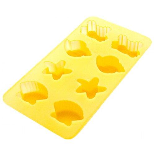 Форма для конфет Хорс Ракушки желтый