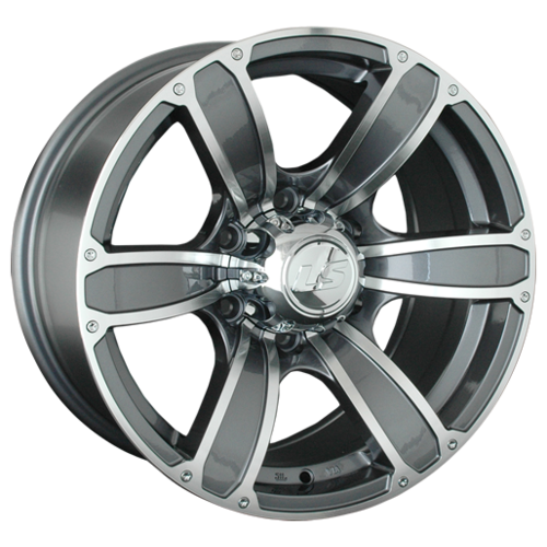 Фото - Колесный диск LS Wheels LS766 8x17/6x139.7 D107.1 ET10 GMF колесный диск ls wheels ls792