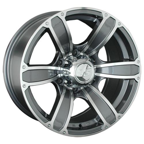 Фото - Колесный диск LS Wheels LS766 8x17/6x139.7 D107.1 ET10 GMF ls ls 845 8 5x18 5x114 3 d67 1 et35 bkf