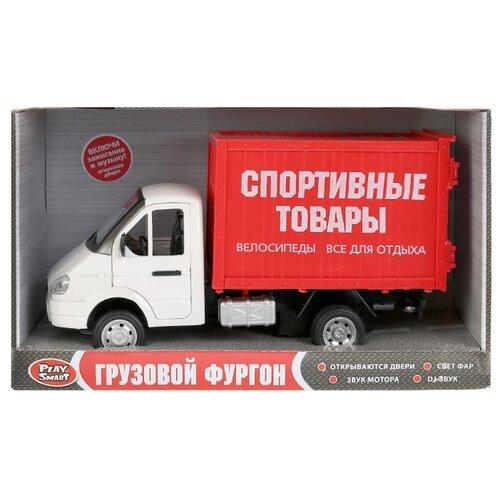 Купить Машина инерционная Play Smart фургон Спорттовары , свет, звук, открывающиеся двери, Машинки и техника