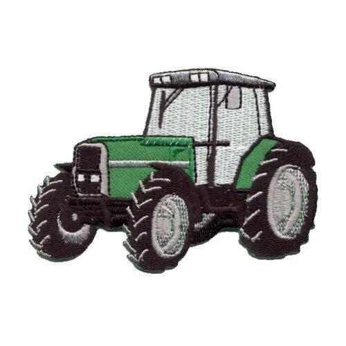 Купить Термоаппликация HKM Трактор, 1 шт 8, 5 x 6 см, HKM Textil, Декоративные элементы