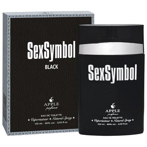 Туалетная вода Apple Parfums SexSymbol Black, 100 мл apple parfums b 52 туалетная вода 80 мл