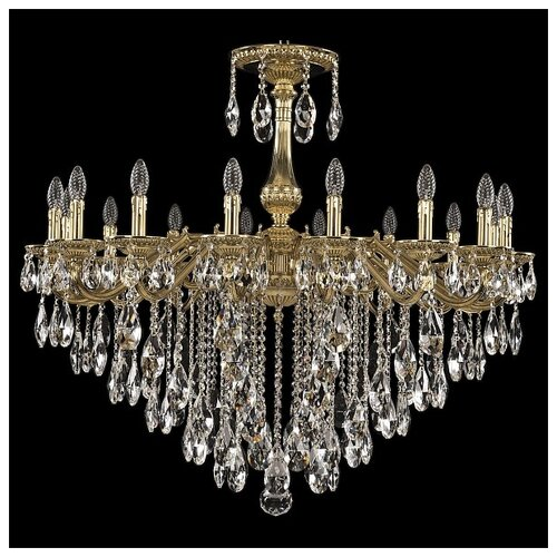 Фото - Люстра Bohemia Ivele Crystal 75102/16/360 B G, E14, 640 Вт люстра bohemia ivele crystal 7201 72301 12 360 b g e14