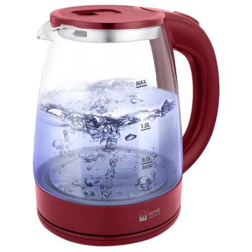 Чайник Home Element HE-KT-185, бордовый гранат чайник home element he kt 174 сталь