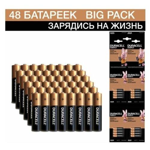 Фото - Батарейка Duracell Simply AAA 3x4x4 шт блистер батарейка duracell simply aa 4х4 шт блистер