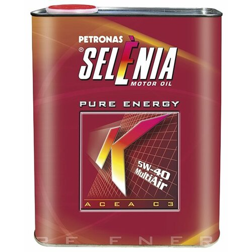 Синтетическое моторное масло Selenia K Pure Energy 5W-40, 2 л по цене 1 270