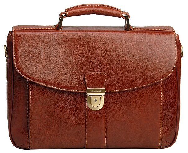 Портфель для мужчин Dr.Koffer B500040, натуральная кожа