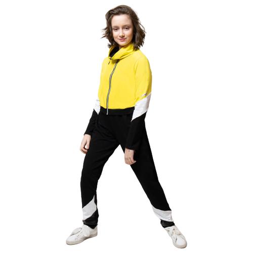 Купить Спортивный костюм Nota Bene размер 152, желтый, Спортивные костюмы