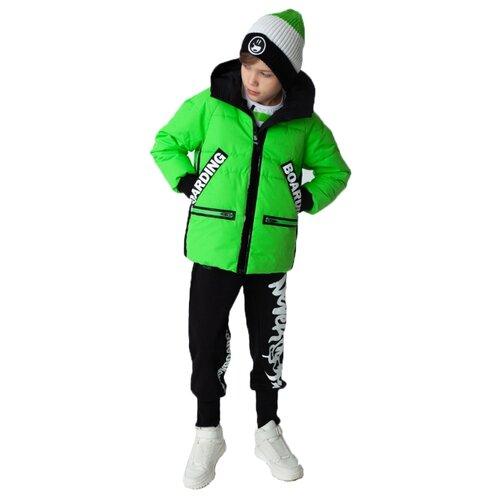 Купить Куртка Gulliver размер 170, зеленый, Куртки и пуховики