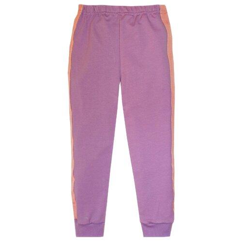 Купить Брюки KotMarKot Спорт меланж 5060170 размер 116, фиолетовый