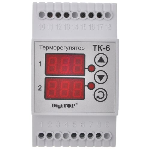 Фото - Терморегулятор Digitop ТК-6 белый digitop vp 20a