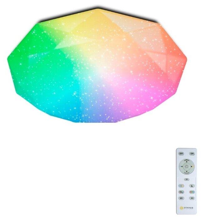 Купить Светодиодный светильник с пультом ALMAZ 60W RGB R в детскую, гостиную, кухню до 20 кв.м. по низкой цене с доставкой из Яндекс.Маркета