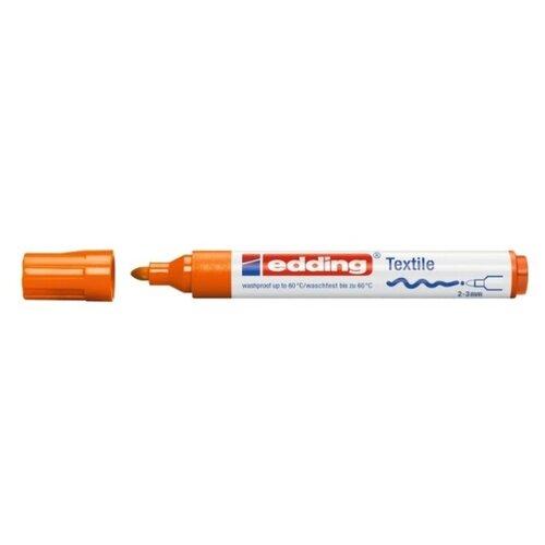Edding Маркер 2 - 3 мм, 1 шт. (4500) оранжевый кедр электрод вольфрамовый wl 20 175 10 шт 3 2 мм синий ac dc 7340006
