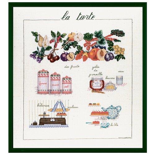 Купить Набор для вышивания: LA TARTE (Пирог) Le Bonheur des Dames, 40*46 1183, Наборы для вышивания
