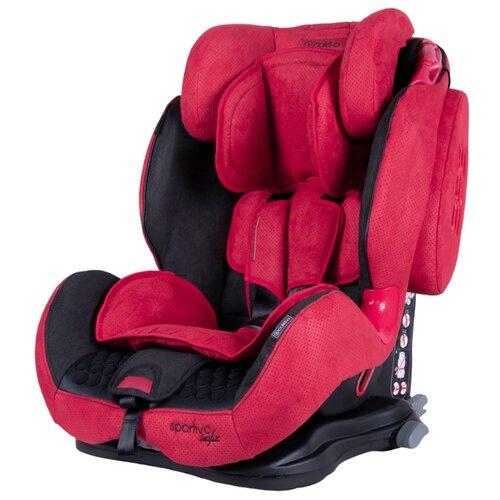 Автокресло группа 1/2/3 (9-36 кг) Coletto Sportivo Isofix, red 2019 группа 1 2 3 от 9 до 36 кг coletto sportivo only isofix и защита сиденья невидимка автобра