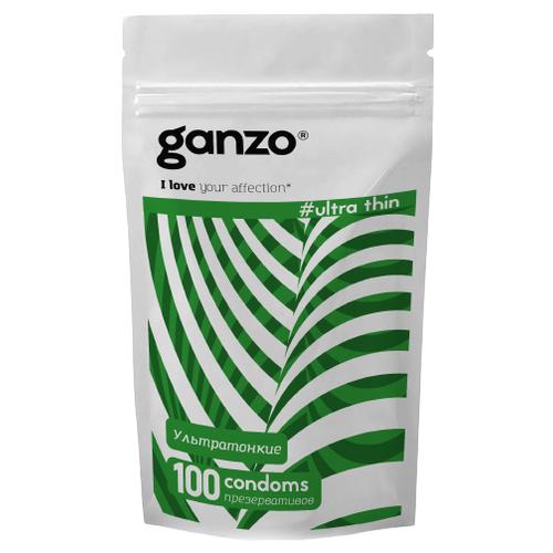 Презервативы Ganzo Ultra Thin, 100 шт. презервативы r and j delicate 10 шт