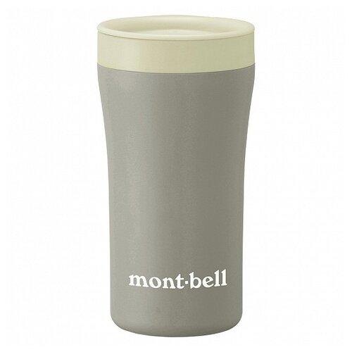 MontBell термостакан Termo Tumbler MB Logo 300мл LTGY серый