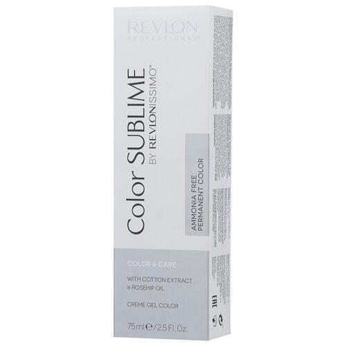 Revlon Professional Revlonissimo Color Sublime стойкая краска для волос, 75 мл, 7.40 блондин интенсивно-медный