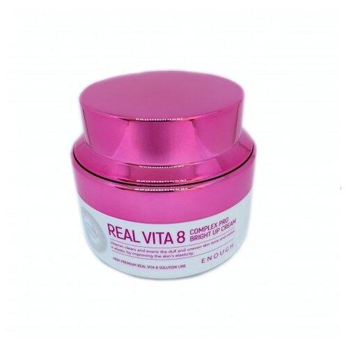 Enough Real Vita 8 complex Pro Bright Up cream питательный крем для лица с 8 витаминами, 50 мл