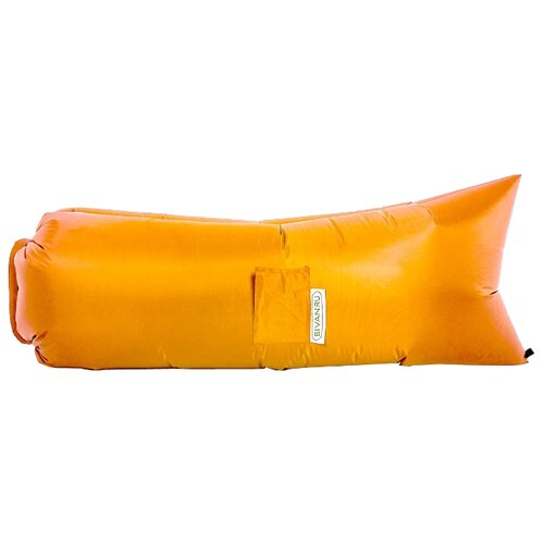 Надувной диван Биван Классический (180х80) оранжевый