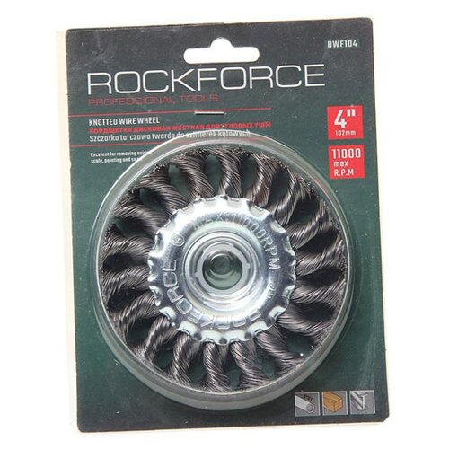 Фото - Кордщетка ROCKFORCE RF-BWF104 кордщетка rockforce rf bwf004
